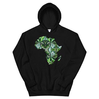 Africa 'African Green' Unisex Hoodie