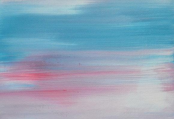 Mini Abstract Landscape 'Blur'