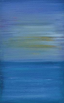 Abstract Landscape 'Golden Blur'