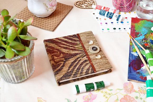 Handmade Printed Cover Sketchbook