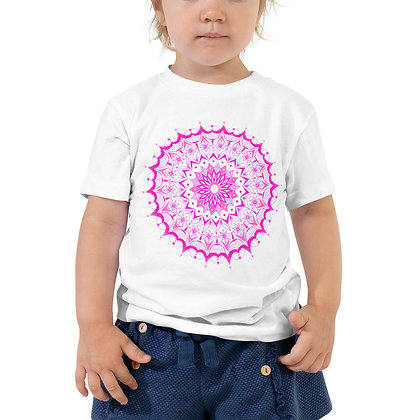 Pink Mandala Toddler Short Sleeve T-Shirt