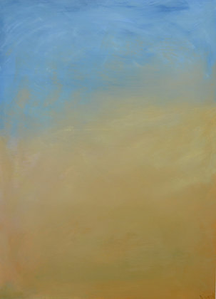 Abstract Landscape 'Parallel Paths: Sandstorm'