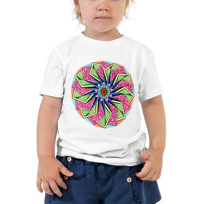 Mandala Five Toddler Short Sleeve T-Shirt