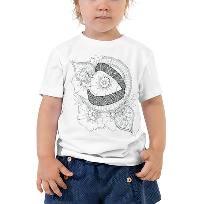 Arabic letter 'daal' Toddler Short Sleeve T-Shirt