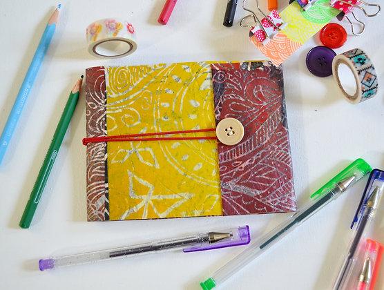 Handmade Sketchbook Journal Multi Colour