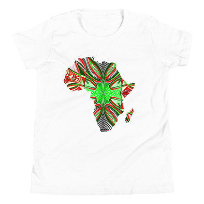 Africa 'Strawberry Lime 3' Short Sleeve T-Shirt