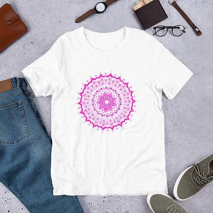 Pink Mandala Yoga T-Shirt