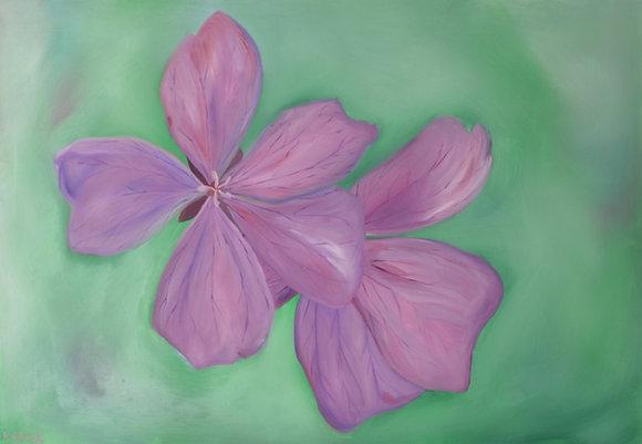 Floral Painting 'Violet'