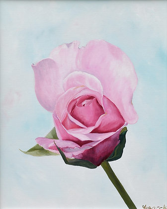 Rose Painting 'Serendipity'