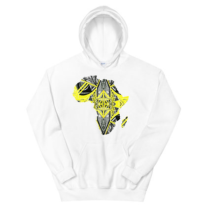Africa 'Suspended Yellow' Unisex Hoodie