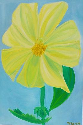 Floral Art 'Lemon Zest'