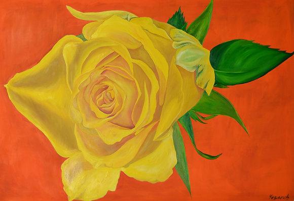 Floral Art 'Wallflower'