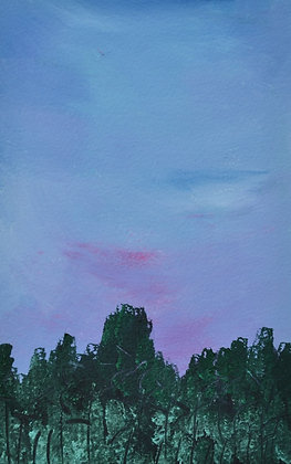 Abstract Landscape 'Luminescent Forest'