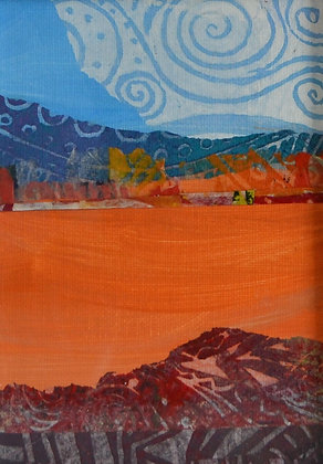 Mini Abstract Landscape 'Arizona'