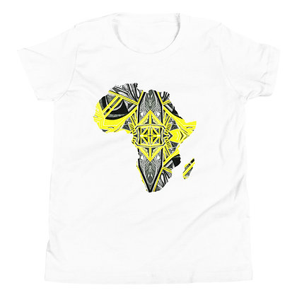 Africa 'Suspended Yellow' Short Sleeve T-Shirt