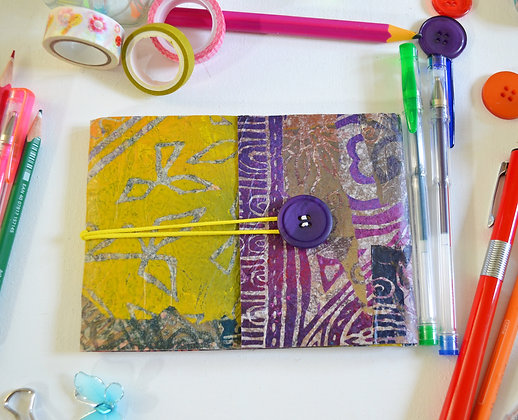 Handmade Sketchbook Journal Purple