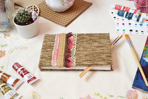 Handmade Ribbon Journal