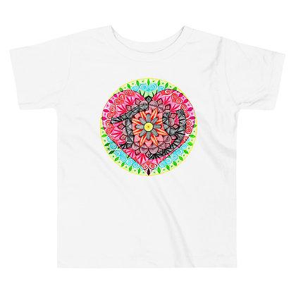 Joy Mandala Toddler Short Sleeve T-Shirt