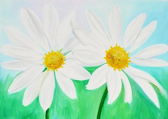 Floral Art 'Twins'