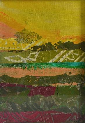Mini Abstract Landscape 'Desert 2'
