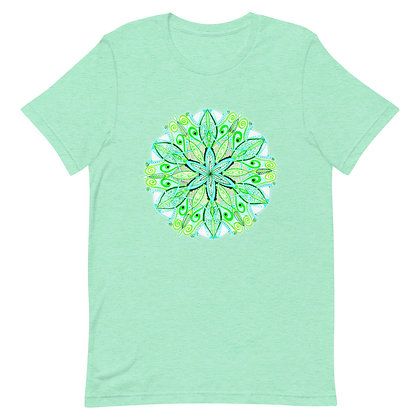 Green Mandala Yoga T-Shirt