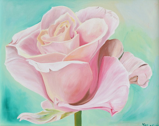 Rose Painting 'Summer Delight'