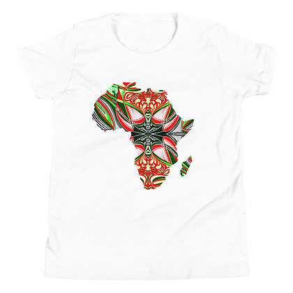 Africa 'Strawberry Lime 2' Short Sleeve T-Shirt