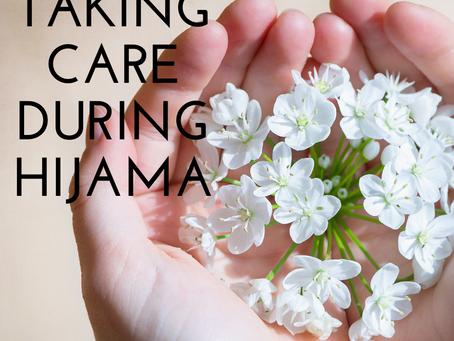Taking Care During Hijama