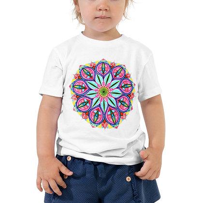 Mandala Ten Toddler Short Sleeve T-Shirt