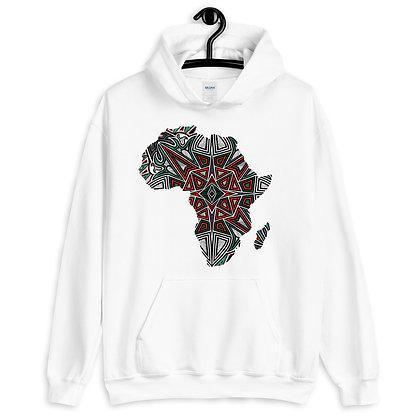 Africa 'Tribal Graffiti' Unisex Hoodie