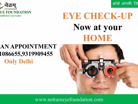Eye Check-up at Your Door Step