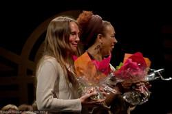 Soline et Anita fleuries
