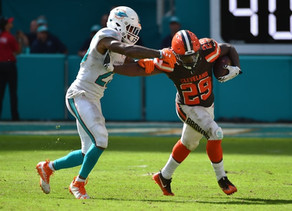 Week 12 Dolphins @ Browns Preview