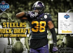 Pittsburgh Steelers Pre-Free Agency 7 Round Mock Draft