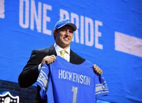 Detroit Lions Mock Draft 1.0