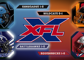 XFL Sunday Week 2 Game Previews