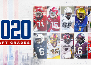 New York Giants Post Draft Grades