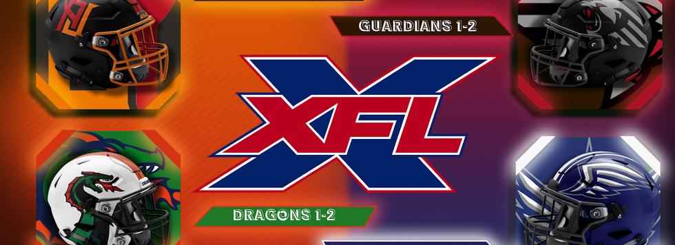 XFL Week 4 Saturday Game Previews