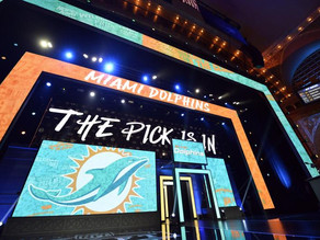 Miami Dolphins Way Too Early Mock Draft