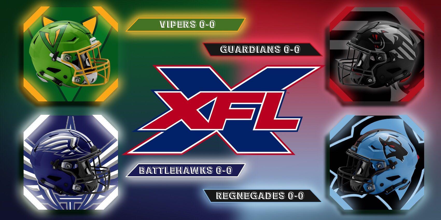 XFL Week 1: Sunday Game Previews