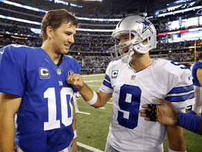 Top Ten Eli Manning vs. Tony Romo Matchups