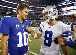 Top Ten Eli Manning vs. Tony Romo Matchups
