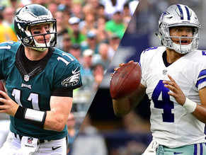 Who is the Better Quarterback in the NFC East: Carson Wentz or Dak Prescott?