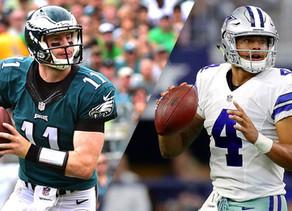 Who is the Better Quarterback in the NFC East: Carson Wentz or Dak Prescott?