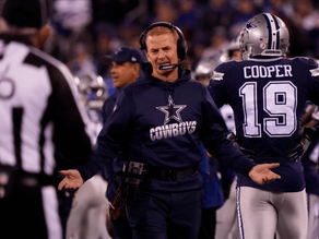 Garrett, Cowboys Continue Late-Season Free Fall in Loss to Bears
