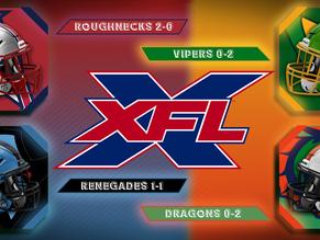 XFL Week 3 Saturday Game Previews
