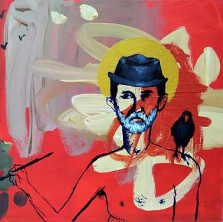 With Joseph Beuys' Hat and Bird