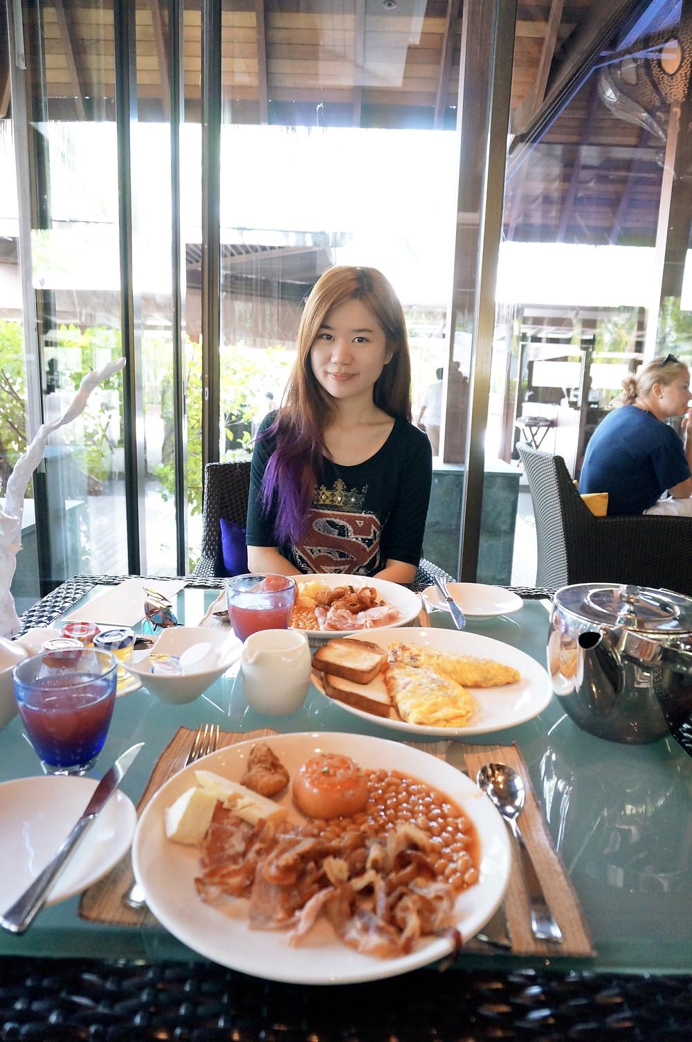 Shangri-La's Villingili Resort and Spa, Maldives Breakfast