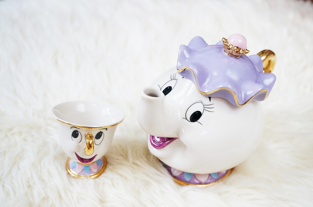 Mrs Potts and Chip Tea Set