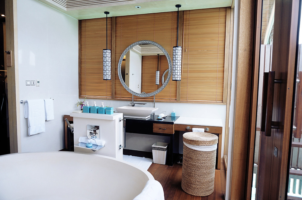 SHANGRI-LA'S VILLINGILI RESORT AND SPA MALDIVES Bathroom